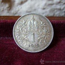 Monedas antiguas de Europa: AUSTRIA - 1 CORONA 1915. Lote 28659833