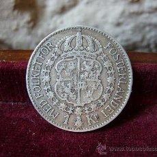 Monedas antiguas de Europa: SUECIA - 1 KRONA 1927 - GUSTAV V. Lote 28659860