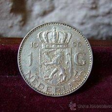 Monedas antiguas de Europa: HOLANDA - 1 GULDEN 1955. Lote 28659881
