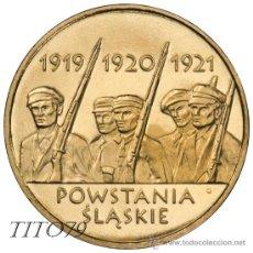 Monnaies anciennes de France: POLONIA 2 ZLOTE 2011 SUBLEVACION DE SILESIA. Lote 191552381