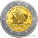 Monedas antiguas de Europa: LOTE DE 2 MONEDAS CONMEMORATIVAS DE 2 EUROS PORTUGAL 2011. Lote 31326658