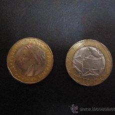 Monedas antiguas de Europa: N50 ITALIA 1000 LIRAS 1998. Lote 30260480