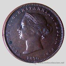 Monedas antiguas de Europa: MONEDAS DEL MUNDO . JERSEY . 1/26 SHILLINGS 1870 . VICTORIA . EXCELENTE. Lote 30319407