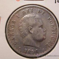 Monedas antiguas de Europa: PORTUGAL 500 REIS 1896 - PLATA. Lote 30938846