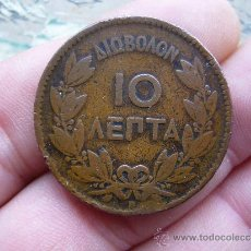 Monete antiche di Europa: GRECIA 10 LEPTA 1869. Lote 30981311