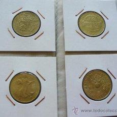 Monedas antiguas de Europa: ITALIA - 4 MONEDAS DE 200 LIRAS CONMEMORATIVAS 1981 , 1993 , 1994, 1996 - MAGNIFICAS. Lote 31082031