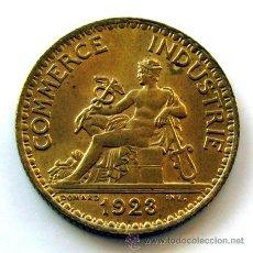 Monedas antiguas de Europa: MONEDAS DEL MUNDO . FRANCIA . 1 FRANC 1923 . CHAMBRES DE COMMERCE . SIN CIRCULAR. Lote 31092055