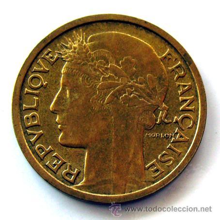 MONEDAS DEL MUNDO . FRANCIA . 1 FRANC 1938 . SIN CIRCULAR (Numismática - Extranjeras - Europa)
