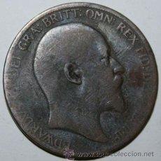 Monedas antiguas de Europa: INGLATERRA 1 PENIQUE DE EDUARDO VII - EDWARD VII - 1904. Lote 31593585