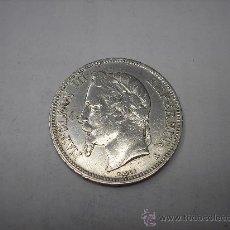 Monedas antiguas de Europa: 5 FRANCOS DE PLATA DE 1867 A. EMPERADOR ,NAPOLEÓN III. Lote 31863768