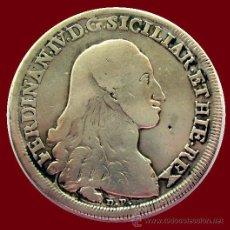 Monedas antiguas de Europa: ITALIA . NÁPOLES-SICILIA . FERNANDO IV . 120 GRANA 1788 CC. Lote 32030470