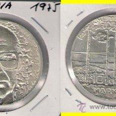 Monedas antiguas de Europa: MONEDA DE 10 MARCOS (MARKKAA) DE FINLANDIA DE 1975. PLATA. SIN CIRCULAR. (ME200).. Lote 32092515
