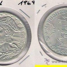 Monedas antiguas de Europa: ME398-PORTUGAL. 50 ESCUDOS. 1969. PLATA. SIN CIRCULAR- VASCO DA GAMA.. Lote 32262160