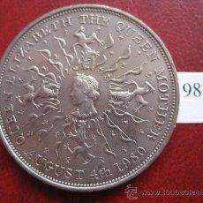 Inglaterra , 1 corona 1980