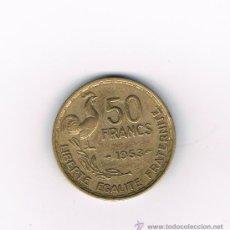 Monedas antiguas de Europa: FRANCIA 50 FRANCS AÑO 1953. Lote 32423582