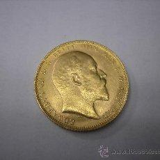 Monedas antiguas de Europa: 1 LIBRA DE ORO DE 1905 REY EDUARDO VII DE GRAN BRETAÑA. Lote 32460048