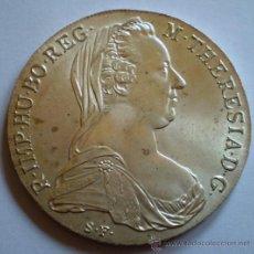 Monedas antiguas de Europa: AUSTRIA THALER-TALER 1780 POSIBLE REACUNACION POSTERIOR. Lote 32503392