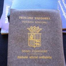 Monedas antiguas de Europa: PRINCIPAT D´ANDORRA - VEGUERIA EPISCOPAL - CARTERA CON 3 MONEDAS 1984. Lote 32540468