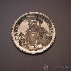 Monedas antiguas de Europa: 50 DINER DE PLATA DE 1960 , ANDORRA. CARLO MAGNO. Lote 32695650