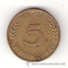 Monedas antiguas de Europa: 5 PFENNIG 1972 - REPÚBLICA FEDERAL DE ALEMANIA. Lote 32805937