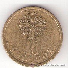 Monedas antiguas de Europa: 10 ESCUDOS - PORTUGAL 1989. Lote 32825419