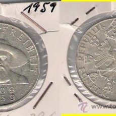 Monedas antiguas de Europa: ME508-AUSTRIA. 50 CHELINES. 1959. PLATA. MBC. (150 ANIVERSARIO DE LA LIBERACIÓN DEL TIROL).. Lote 33249021