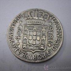 Monedas antiguas de Europa: 100 REIS DE PLATA DE DE 1815 , REINO DE PORTUGAL. Lote 33358472
