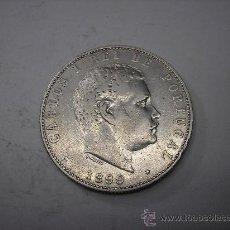 Monedas antiguas de Europa: 1000 REIS DE PLATA DE 1899. REY DE PORTUGAL CARLOS I. Lote 33358700