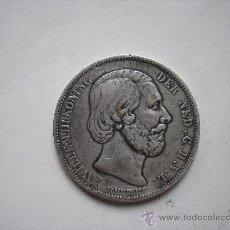 Monedas antiguas de Europa: 2 1/2 GULDEN DE PLATA DE 1874. REY GUILLERMO III DE HOLANDA. Lote 33485734