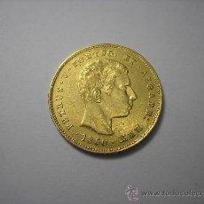 Monedas antiguas de Europa: 5000 REIS DE ORO DE PORTUGAL DE 1860 . REY PEDRO V. Lote 33528782