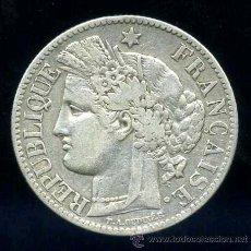 Monedas antiguas de Europa: FRANCIA : 2 FRANCOS 1881 A (PLATA). Lote 33707502