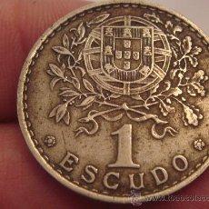 Monedas antiguas de Europa: 1 ESCUDO PORTUGAL AÑO 1961. Lote 33925199