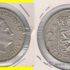 Monedas antiguas de Europa: ME689-HOLANDA. 2 Y 1/2 GULDEN. 1959. PLATA. EBC. (REINA JULIANA I).. Lote 33995509