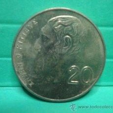 Monedas antiguas de Europa: 20 MILLINS - CHIPRE - 1998. Lote 34268534