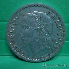 Monedas antiguas de Europa: 5 FRANCS 1946 - FRANCIA. Lote 34268597