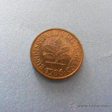 Monedas antiguas de Europa: 1 ANTIGUA MONEDA AÑO 1986 - ALEMANIA - 5 PEENIG. Lote 34220759