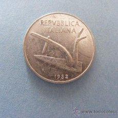 Monedas antiguas de Europa: 1 ANTIGUA MONEDA AÑO 1982 - ITALIA - 10 LIRAS. Lote 34223737