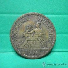 Monedas antiguas de Europa: 1 FRANC 1921 - FRANCIA. Lote 34254520