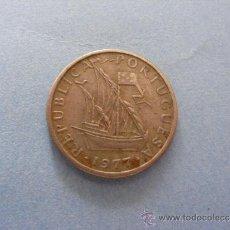 Monedas antiguas de Europa: 1 ANTIGUA MONEDA AÑO 1977 - POTUGAL - 5 ESCUDOS. Lote 34233365