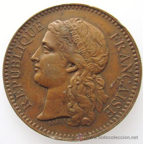 MUY BONITO FRANCE FRANCIA JETON 1878 PARIS LOTE 2 (Numismática - Extranjeras - Europa)