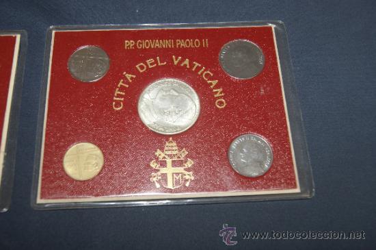 Monedas antiguas de Europa: Lote de 2 series de Ciudad del Vaticano. Completas. - Foto 2 - 34675370