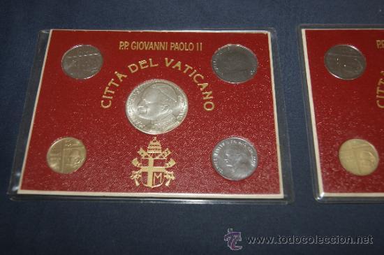 Monedas antiguas de Europa: Lote de 2 series de Ciudad del Vaticano. Completas. - Foto 3 - 34675370