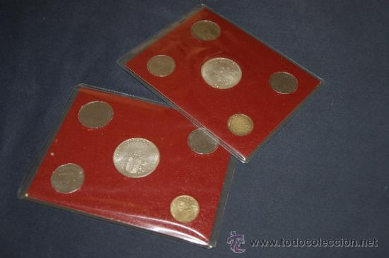 Monedas antiguas de Europa: Lote de 2 series de Ciudad del Vaticano. Completas. - Foto 4 - 34675370