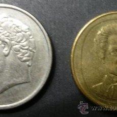 Monedas antiguas de Europa: 2 MONEDAS GRIEGAS. Lote 35234313