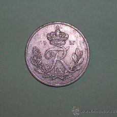 Monedas antiguas de Europa: DINAMARCA 25 ORE 1957 (2222). Lote 35591543
