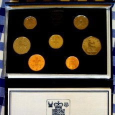 Monedas antiguas de Europa: ESTUCHE UNITED KINGDOM 1985 PROOF COIN COLLECTION CERTIFICADO. Lote 35607773