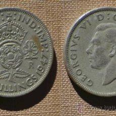 Monedas antiguas de Europa: GRAN BRETAÑA, INGLATERRA - 2 SHILLINGS 1947 - GEORGE VI. Lote 35782227