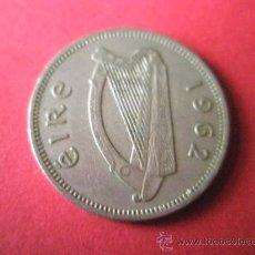 Monedas antiguas de Europa: MONEDA DE IRLANDA(EIRE)-1 SHILLING-1962-24 MM.D-.. Lote 35946978