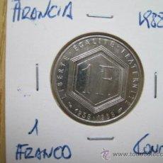 Monedas antiguas de Europa: CONMEMORATIVAS DE FRANCIA ENCARTONADAS,COMMERATIVES DE FRANCE CARTONNÉES. Lote 35971903