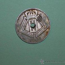 Monedas antiguas de Europa: BÉLGICA 5 CÉNTIMOS 1940 BELGIE (3272). Lote 128631762